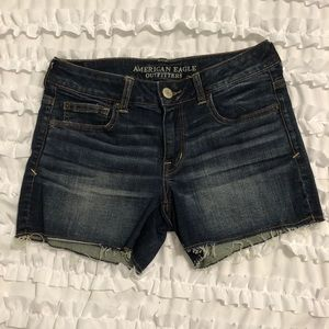 American Eagle Outfitters Denim Cut Off Shorts - 8